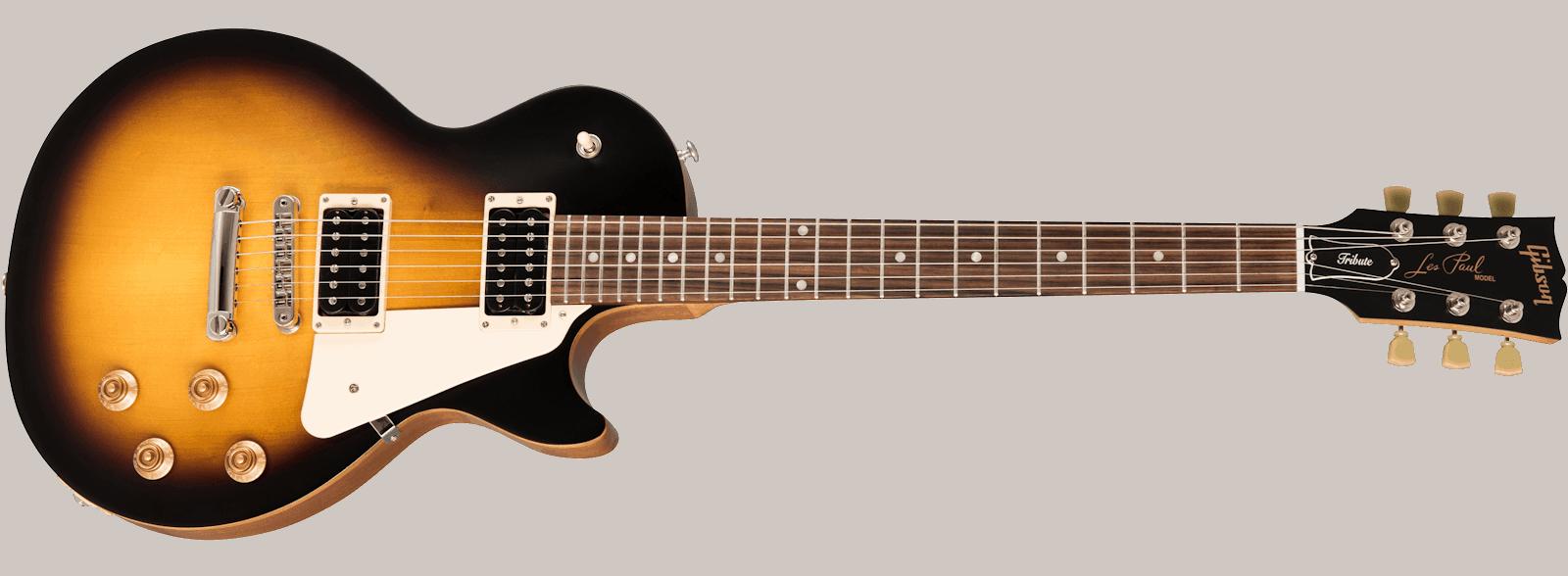 L'emblématique Gibson Les Paul - souvent disponible chez Harry Guitars